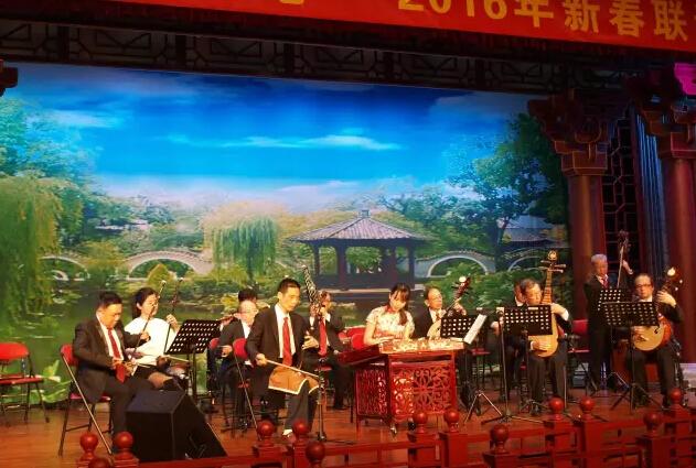 小冯老师参加新春联谊活动